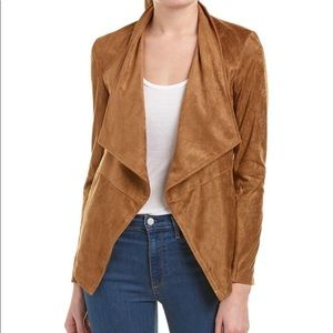 NWT bb Dakota wade faux suede camel color jacket